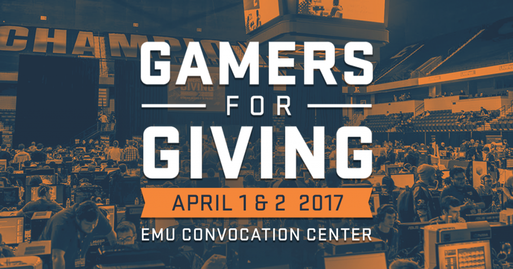 Gamers For Giving Charity Gaming Event | March 23rd & 24th, 2019